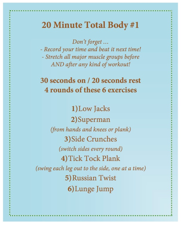 20 minute total body 1